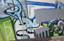 Graffiti an der OWG